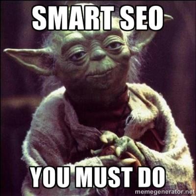 smart seo yoda quote