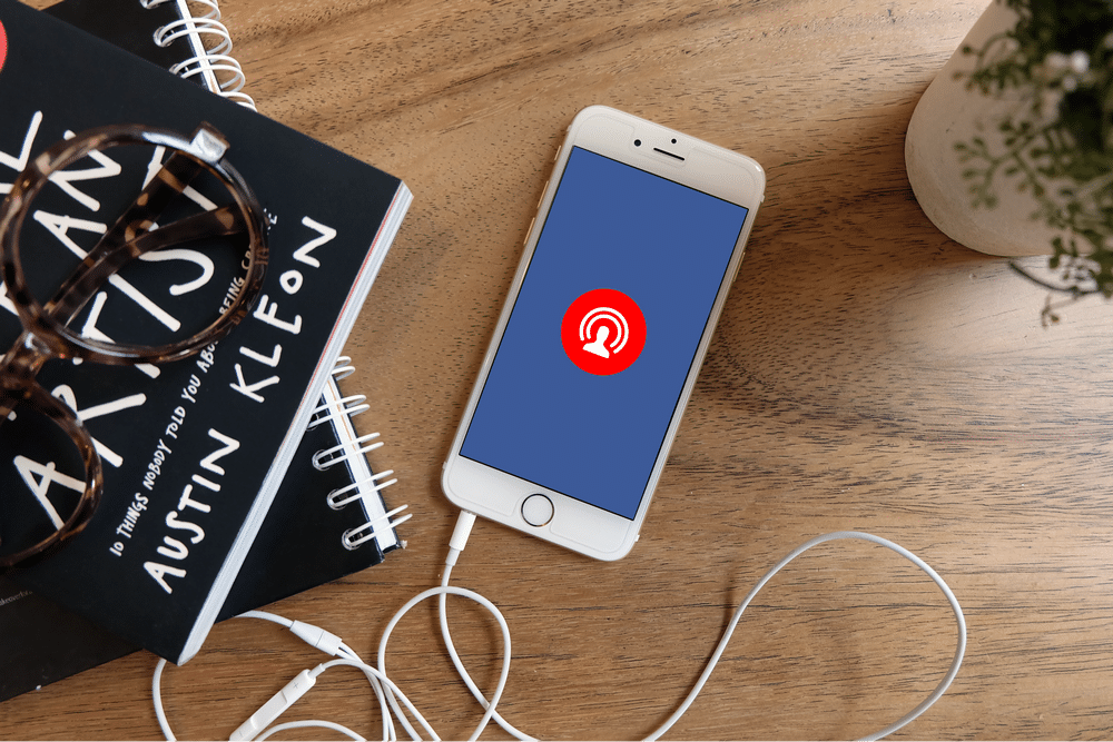 Facebook Live sur un iPhone 6