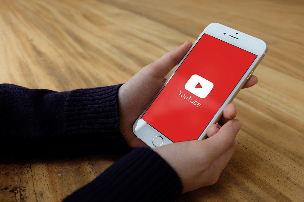 Youtube Connect sur un iPhone 6