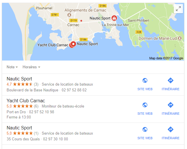Pack Local Google Maps