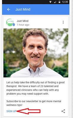 call action google posts