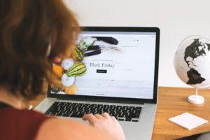 Black friday sur un site e-commerce