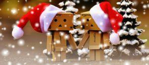 Exemple de bannière dans l'esprit de Noël